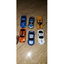 Set 6 xe mô hình siêu xe bằng nhựa rất đẹp