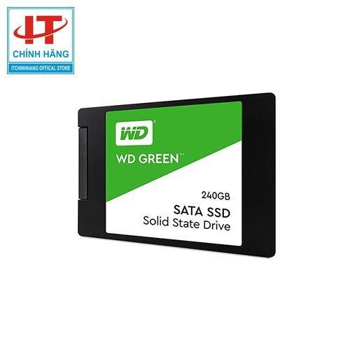 Ổ Cứng WD GREEN SSD 240GB SATA III, dùng cho laptop, PC, tốc độ nhanh gấp 10 lần ổ cứng thông thường - Chính hãng - 11451308 , 17242561 , 15_17242561 , 1050000 , O-Cung-WD-GREEN-SSD-240GB-SATA-III-dung-cho-laptop-PC-toc-do-nhanh-gap-10-lan-o-cung-thong-thuong-Chinh-hang-15_17242561 , sendo.vn , Ổ Cứng WD GREEN SSD 240GB SATA III, dùng cho laptop, PC, tốc độ nhanh