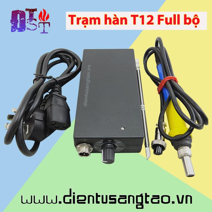 Trạm hàn T12 Full bộ tích hợp sẵn nguồn 220V