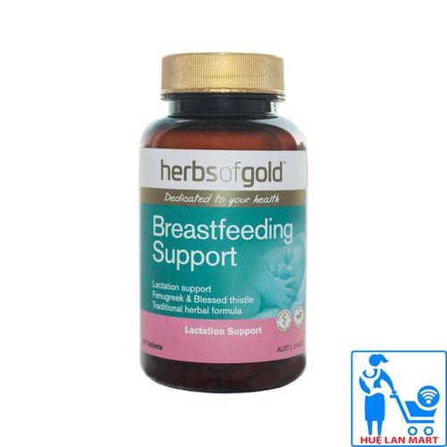 Thực Phẩm Bổ Sung Lợi Sữa Herbs Of Gold Breastfeeding Support Lọ 60 Viên