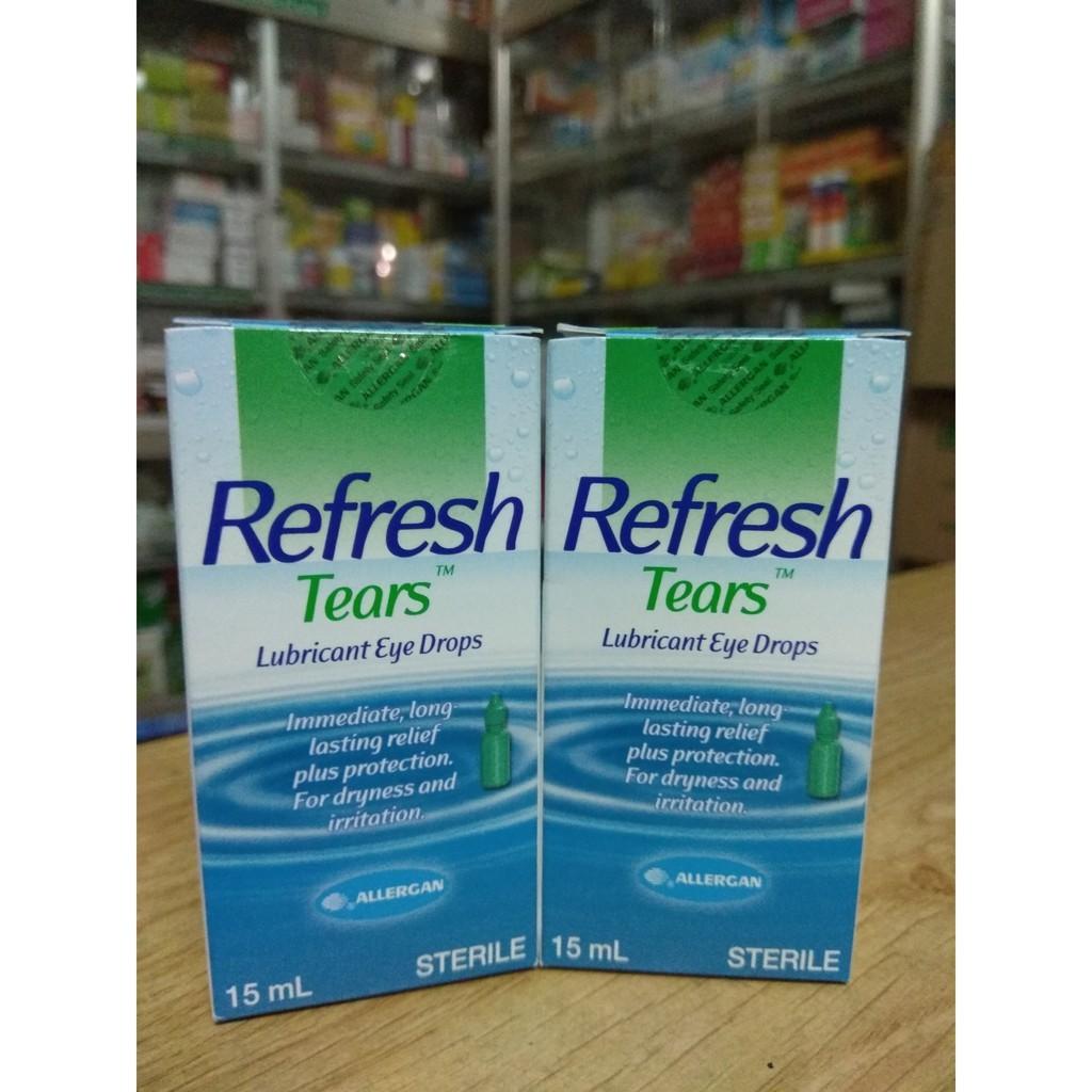 Refresh tear nước mắt nhân tạo 15ml