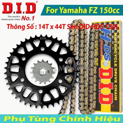 Bộ Nhông sên dĩa DID Yamaha FZ, Exciter 150cc Sên DID Vàng 130L 10ly Thái Lan 14T x 44T - 4656589 , 17265205 , 15_17265205 , 740000 , Bo-Nhong-sen-dia-DID-Yamaha-FZ-Exciter-150cc-Sen-DID-Vang-130L-10ly-Thai-Lan-14T-x-44T-15_17265205 , sendo.vn , Bộ Nhông sên dĩa DID Yamaha FZ, Exciter 150cc Sên DID Vàng 130L 10ly Thái Lan 14T x 44T