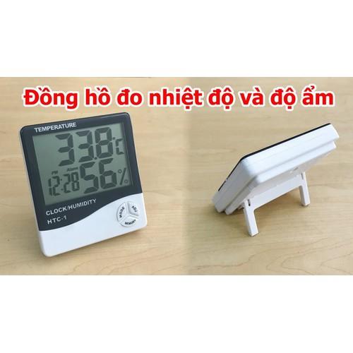 Đồng hồ đo kiểm soát nhiệt độ, độ ẩm của phòng ngủ, văn phòng