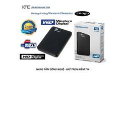 Ổ Cứng Di Động W.D Elements 500GB - BH 24 Tháng
