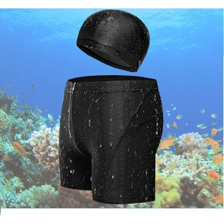 Quần bơi nam kèm nón bơi cực chất_QN09 - QN09 thumbnail