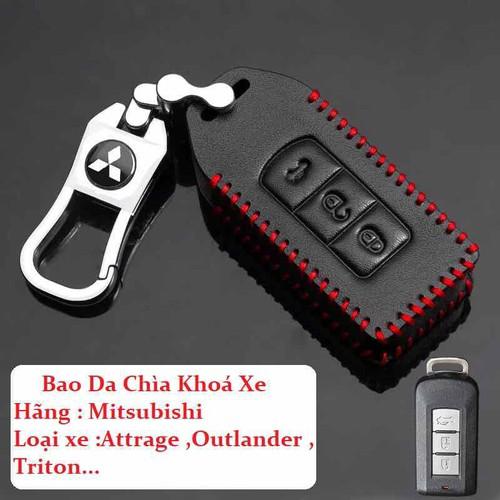 Bao Da khoá xe Mitsubishi Attrage Outlander Triton