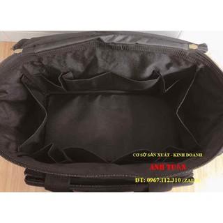 Túi Đồ Nghề sửa chữa cao cấp có ngăn vắt đồ nghề - TDNCCNV thumbnail
