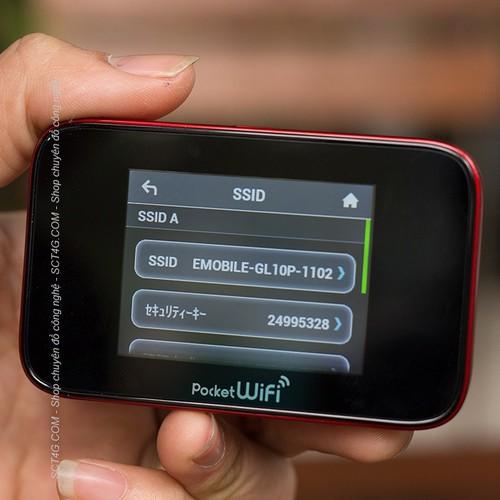Bộ phát wifi gl10p 3g 4g - cho ti vi - Tivi - HUAWEI EMOBILE GL10P - TRUY CẬP INTERNET ĐẲNG CẤP