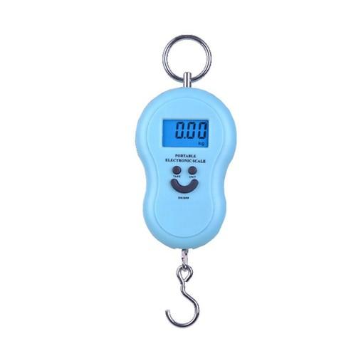 Cân móc điện tử cầm tay max 50kg cân cá khi đi câu, cân vật dụng tiện dụng