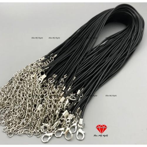 100 dây thừng đeo vòng cổ 1,5mm