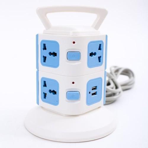 Ổ Cắm Điện 2 Tầng Đa Năng Có Cổng USB - Hàng Loại I