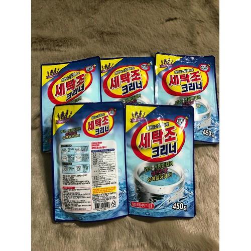 Bột tẩy vệ sinh lồng máy giặt Hàn Quốc 450g - 11464524 , 17275268 , 15_17275268 , 30000 , Bot-tay-ve-sinh-long-may-giat-Han-Quoc-450g-15_17275268 , sendo.vn , Bột tẩy vệ sinh lồng máy giặt Hàn Quốc 450g