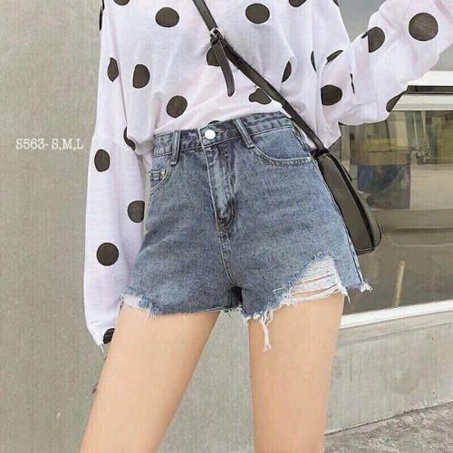 Quần short jean nữ cute