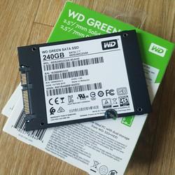 Ổ Cứng SSD WD Green 240GB 3D NAND - Chính Hãng Western Digital - SSDWD