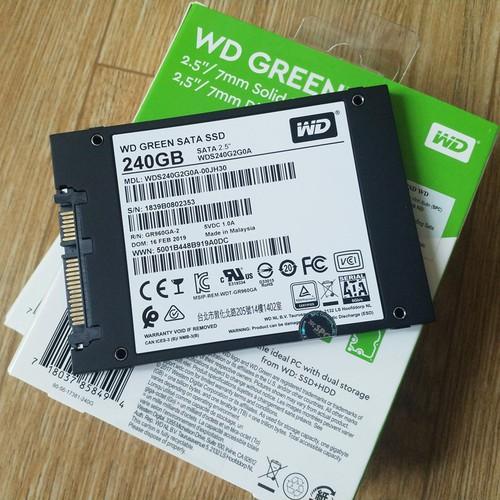 Ổ Cứng SSD WD Green 240GB 120Gb 3D NAND - Chính Hãng Western Digital - 11463315 , 17272428 , 15_17272428 , 490000 , O-Cung-SSD-WD-Green-240GB-120Gb-3D-NAND-Chinh-Hang-Western-Digital-15_17272428 , sendo.vn , Ổ Cứng SSD WD Green 240GB 120Gb 3D NAND - Chính Hãng Western Digital