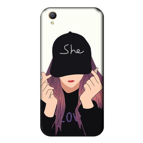 Ốp lưng dành cho điện thoại Oppo NEO 9 - A37 - She Love - giá tốt