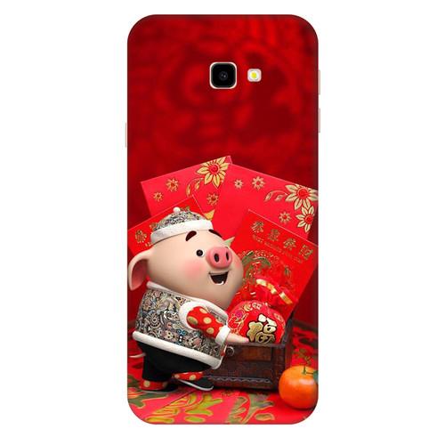 Ốp lưng dành cho điện thoại Samsung Galaxy J4 PLUS - J4 PRIME - J5 PRIME - J7 PRIME - J4 CORE - Heo Con Lì xì - hàng chất lượng cao