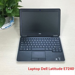 Laptop mỏng nhẹ Dell E7240 Core i7 4600u Ram 8G SSD 250G 12.5in