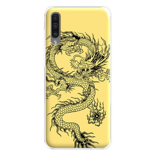 Ốp lưng dành cho điện thoại Samsung Galaxy A7 2018 - A750 - A8 STAR - A9 STAR - A50 - 0224 DRAGON04 - hàng chất lượng cao