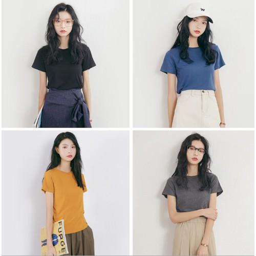 Áo thun tay ngắn cổ tròn đơn giản năng động  thời trang hãng EAL nội địa Trung
