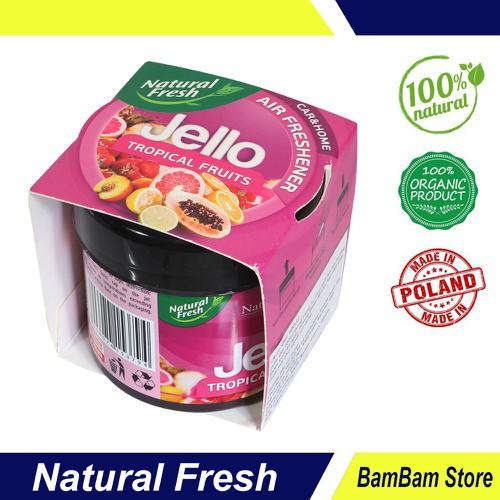 Sáp thơm khử mùi cho xe hơi Natural Fresh hương trái cây JL100T – Hàng chính hãng