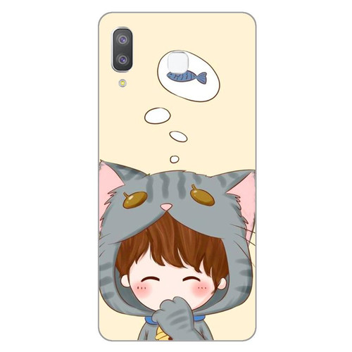 Ốp lưng dành cho điện thoại Samsung Galaxy A7 2018 - A750 - A8 STAR - A9 STAR - A50 - Couple Boy 05 - giá tốt