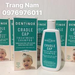 Dầu gội trị cứt trâu cho bé Dentinox của Anh 125ml