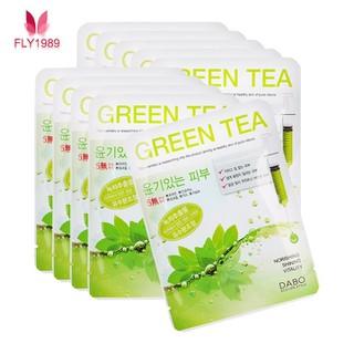 10 Miếng đắp mặt nạ Trà xanh Dabo - Mặt nạ trà xanh thumbnail