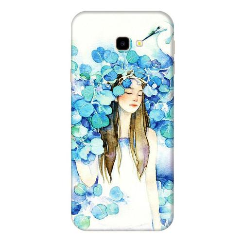 Ốp lưng dành cho điện thoại Samsung Galaxy J4 PLUS - J4 PRIME - J5 PRIME - J7 PRIME - J4 CORE - Cô Gái Lá Xanh - hàng đẹp