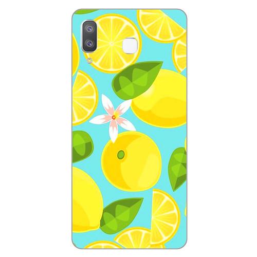 Ốp lưng dành cho điện thoại Samsung Galaxy A7 2018 - A750 - A8 STAR - A9 STAR - A50 - Lemon 01 - hàng chất lượng cao