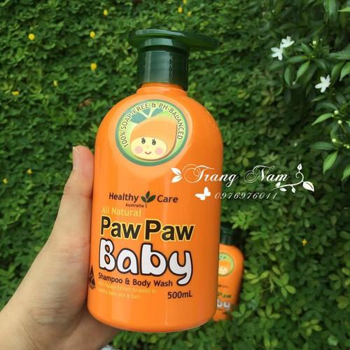 Sữa Tắm Gội Paw Paw Baby Healthy Care 500ml của Úc - 11469225 , 17288834 , 15_17288834 , 290000 , Sua-Tam-Goi-Paw-Paw-Baby-Healthy-Care-500ml-cua-Uc-15_17288834 , sendo.vn , Sữa Tắm Gội Paw Paw Baby Healthy Care 500ml của Úc