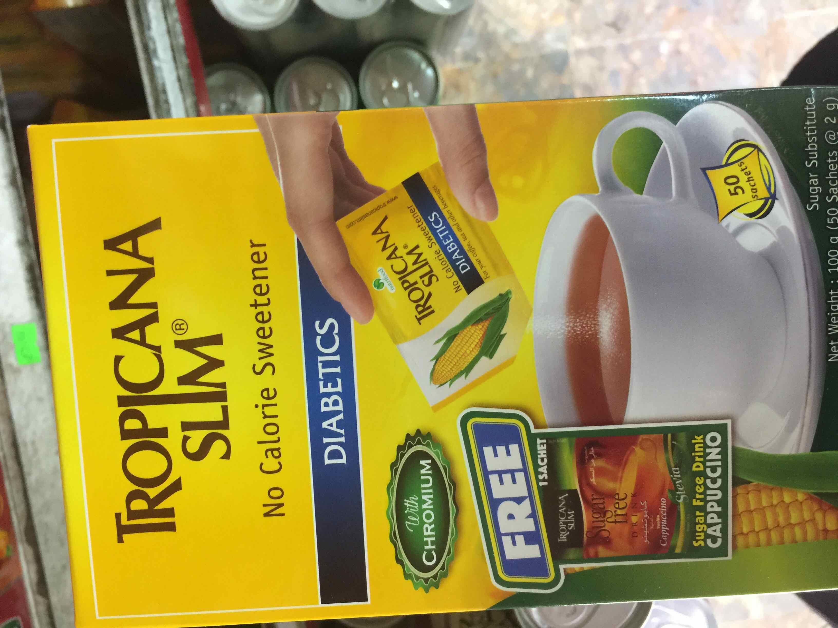đường ăn kiêng tropicana slim sucralose hộp 100g - 749921202055