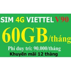 sim điện thoại - sim truy cập mạng - sim viettel 4g chuẩn nhà mạng - sim 4g siêu ưu đãi hấp dẫn