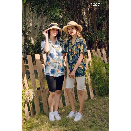 áo hoa mùa hè