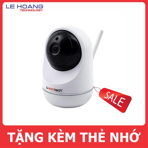 Camera IP Wifi không dây thông minh Samtech SYC-229E tặng kèm thẻ nhớ chính hãng