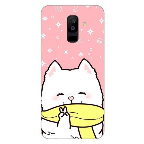 Ốp lưng dành cho điện thoại Samsung Galaxy A8 2018 - A5 2018 - J2 Core - A6 Plus - Cute Dog 06 - hàng đẹp