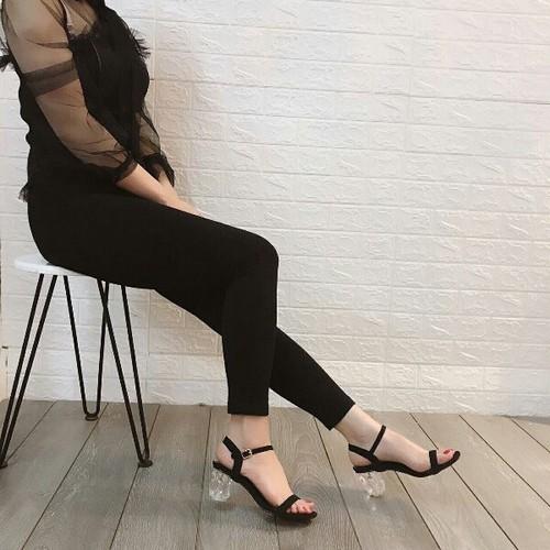 giày sandal bảng gót