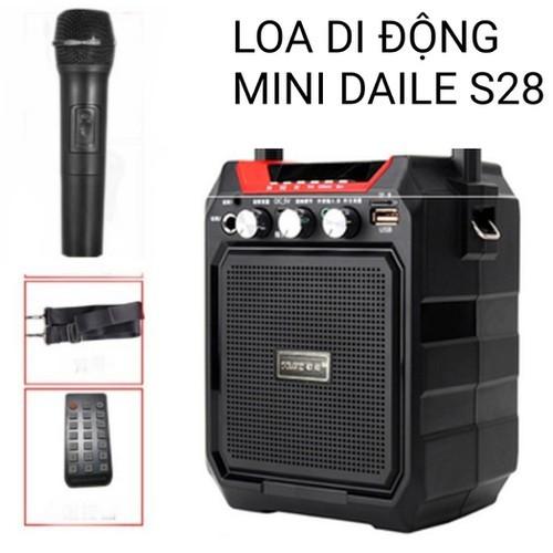 Loa Kéo Mini Daile S28 tặng micro - 7655680 , 17290406 , 15_17290406 , 605000 , Loa-Keo-Mini-Daile-S28-tang-micro-15_17290406 , sendo.vn , Loa Kéo Mini Daile S28 tặng micro