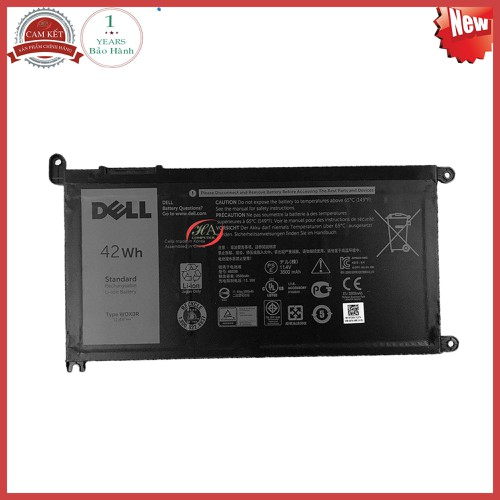 Pin laptop dell Inspiron 3584  42 Wh