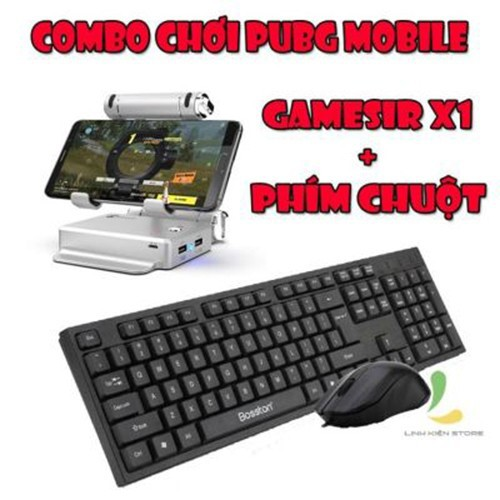Combo Gamesir X1 + bàn phím & chuột Bosston d5200 - 11468786 , 17287328 , 15_17287328 , 899000 , Combo-Gamesir-X1-ban-phim-chuot-Bosston-d5200-15_17287328 , sendo.vn , Combo Gamesir X1 + bàn phím & chuột Bosston d5200