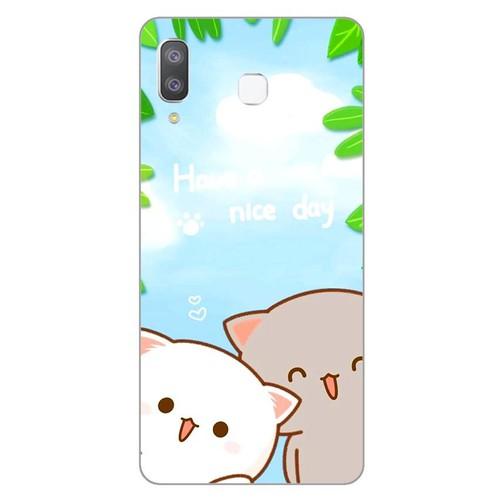 Ốp lưng dành cho điện thoại Samsung Galaxy A7 2018 - A750 - A8 STAR - A9 STAR - A50 - Nice Day - hàng đẹp