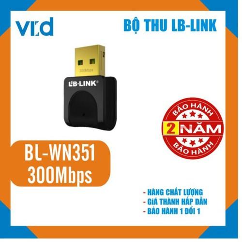 Bộ thu sóng Wifi LB-Link BL-WN351 300Mbps - Chính hãng - 11469989 , 17291468 , 15_17291468 , 169000 , Bo-thu-song-Wifi-LB-Link-BL-WN351-300Mbps-Chinh-hang-15_17291468 , sendo.vn , Bộ thu sóng Wifi LB-Link BL-WN351 300Mbps - Chính hãng