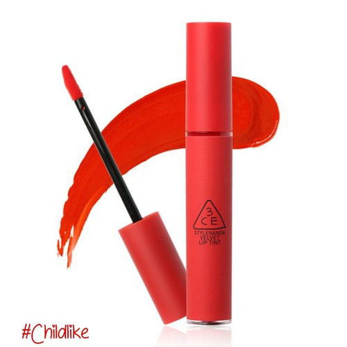 Son 3CE Stylenanda Velvet Lip Tint #Childlike - Đỏ Cam
