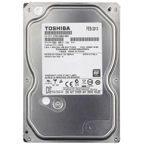 Ổ cứng Toshiba. AV SATA3 1TB + tặng thẻ nhớ 16GB