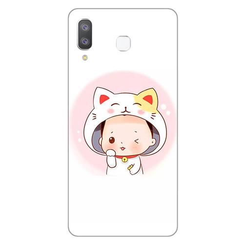 Ốp lưng dành cho điện thoại Samsung Galaxy A7 2018 - A750 - A8 STAR - A9 STAR - A50 - Couple Boy 08 - hàng đẹp