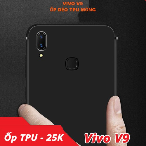 Ốp lưng Vivo V9 TPU dẻo cực mỏng