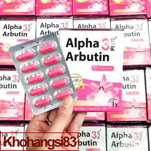 Viên kích trắng Alpha Arbutin 3 Plus - Chính Hãng Thái Lan - 1 Vỉ 10 Viên - 4833303 , 17277056 , 15_17277056 , 78000 , Vien-kich-trang-Alpha-Arbutin-3-Plus-Chinh-Hang-Thai-Lan-1-Vi-10-Vien-15_17277056 , sendo.vn , Viên kích trắng Alpha Arbutin 3 Plus - Chính Hãng Thái Lan - 1 Vỉ 10 Viên
