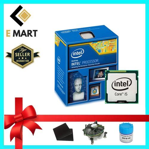 Bộ vi xử lý Intel CPU Core I5 4590S  4 lõi - 4 luồng Tiết kiệm điện Chất Lượng Tốt - Hàng Nhập Khẩu
