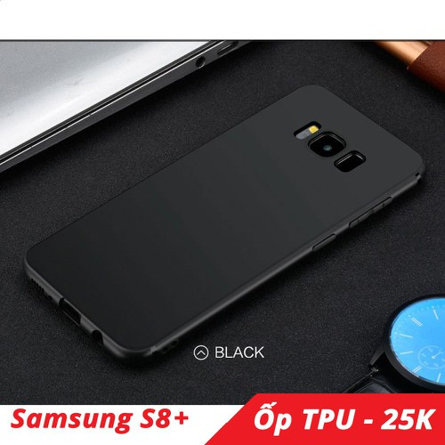 Ốp lưng Samsung S8 Plus TPU dẻo cực mỏng