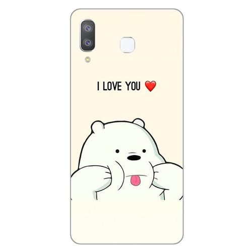 Ốp lưng dành cho điện thoại Samsung Galaxy A7 2018 - A750 - A8 STAR - A9 STAR - A50 - Ice Bear - giá tốt